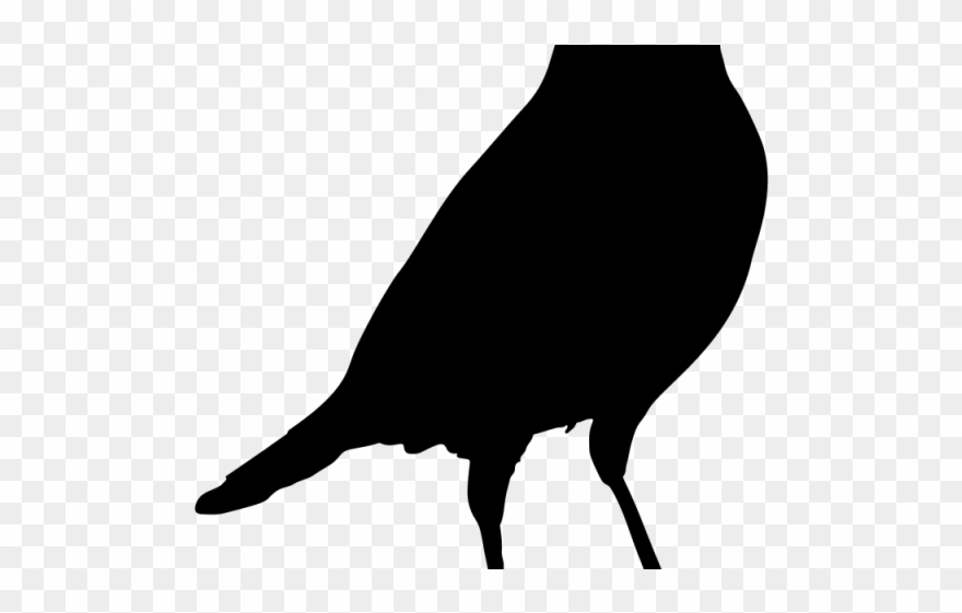 Crow,Clipart,Blackbird,Png,Download #4886733 - Free Png Library