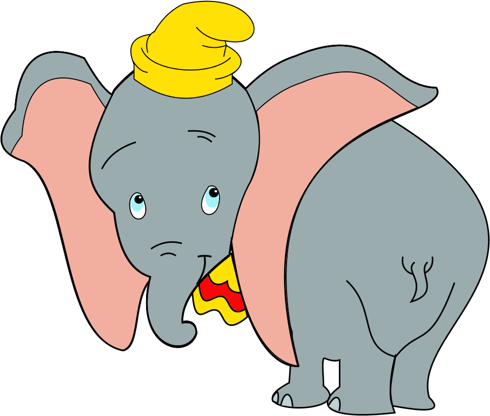 Dumbo,Clipart,Elephant,Big,Ears,Clipart,Png,Download