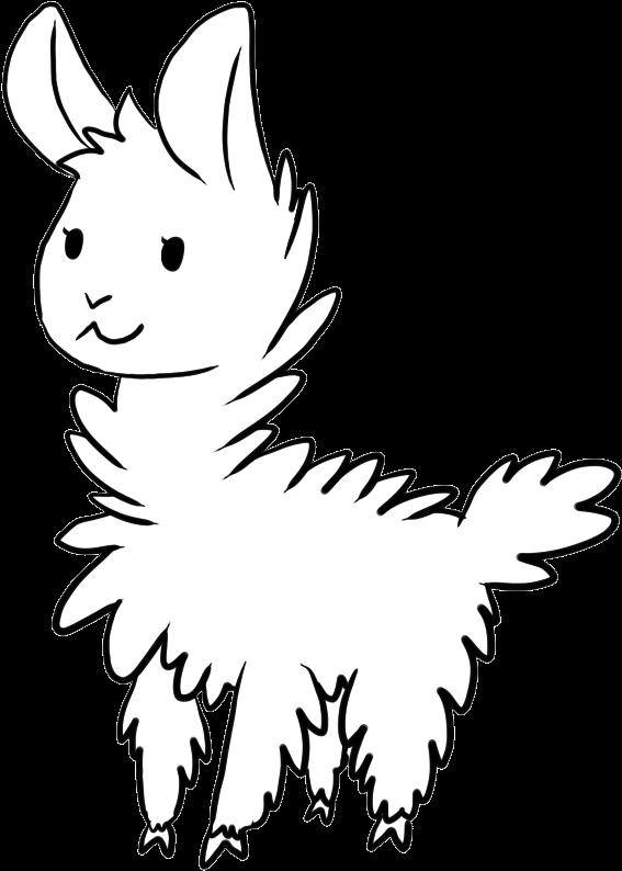 Llama,Coloring,Pages,Llama,Animal,Coloring,Pages,Clipart
