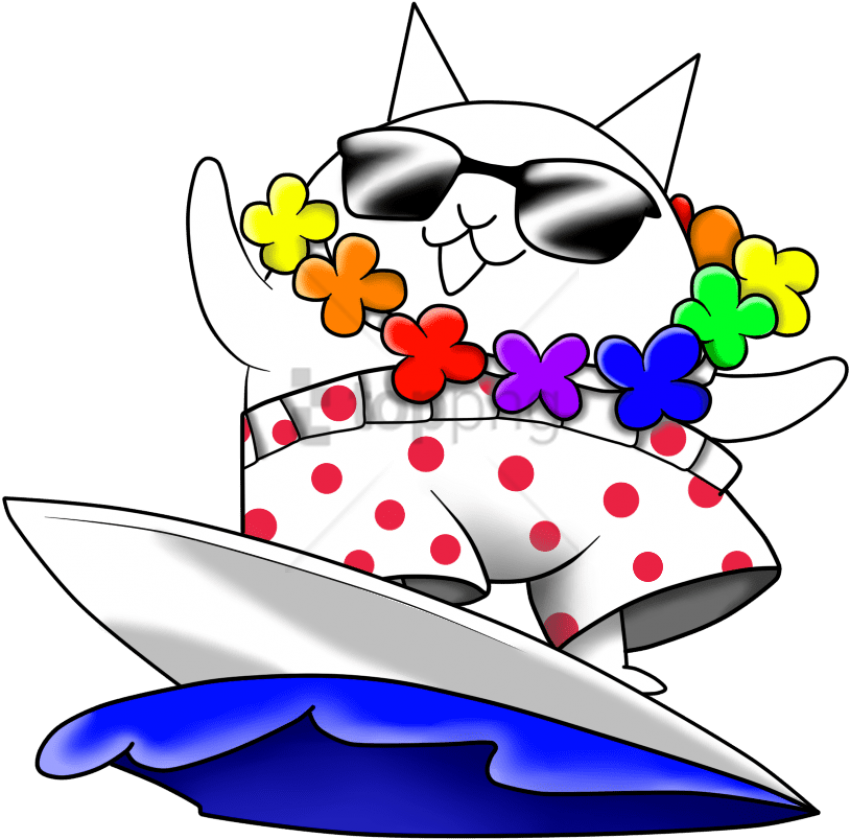 Surfer,Cat,The,Surfer,Cat,Battle,Cats,Clipart